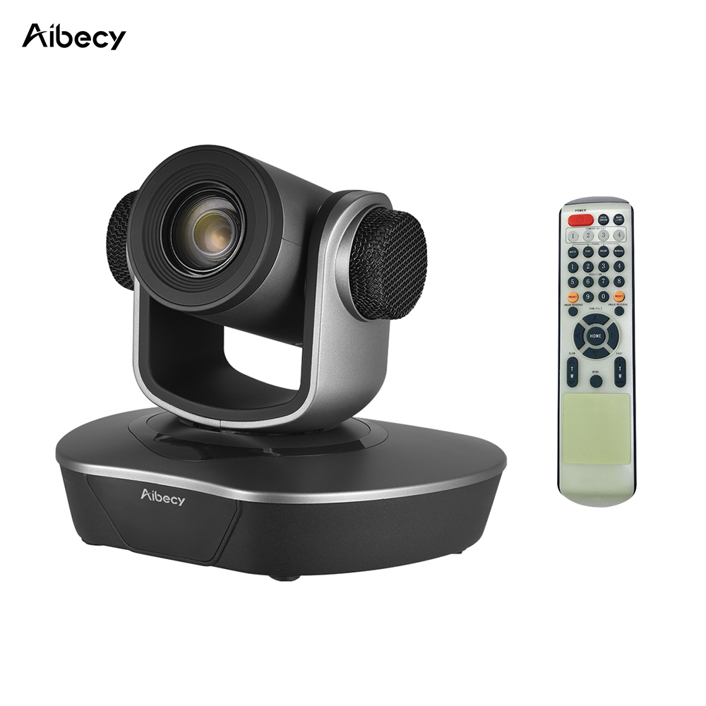 Aibecy HD Video Conference Cam Camera 20x Optical Zoom HD 1080P Auto Focus Max 255 Preset