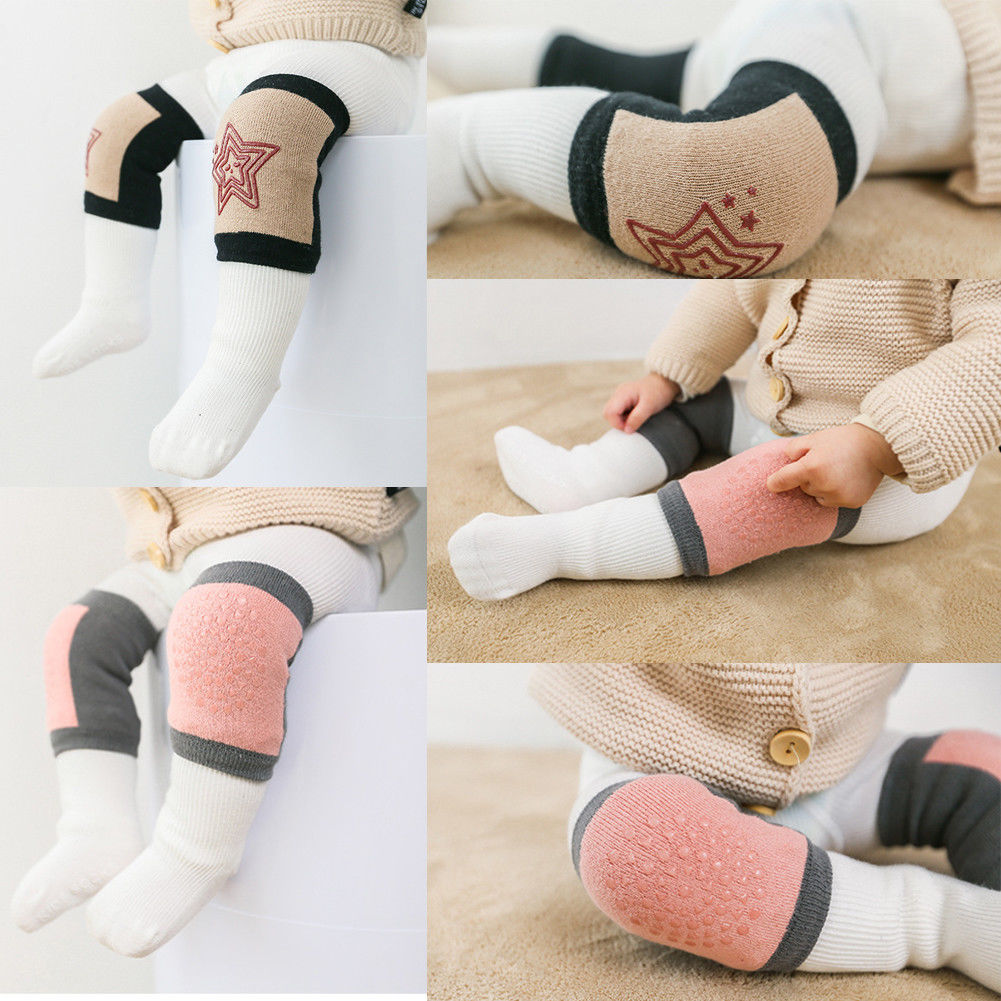 Fashion New Baby Crawling Knee Pads Safety Anti-slip Walking Leg Elbow Protector Excellent Quality In