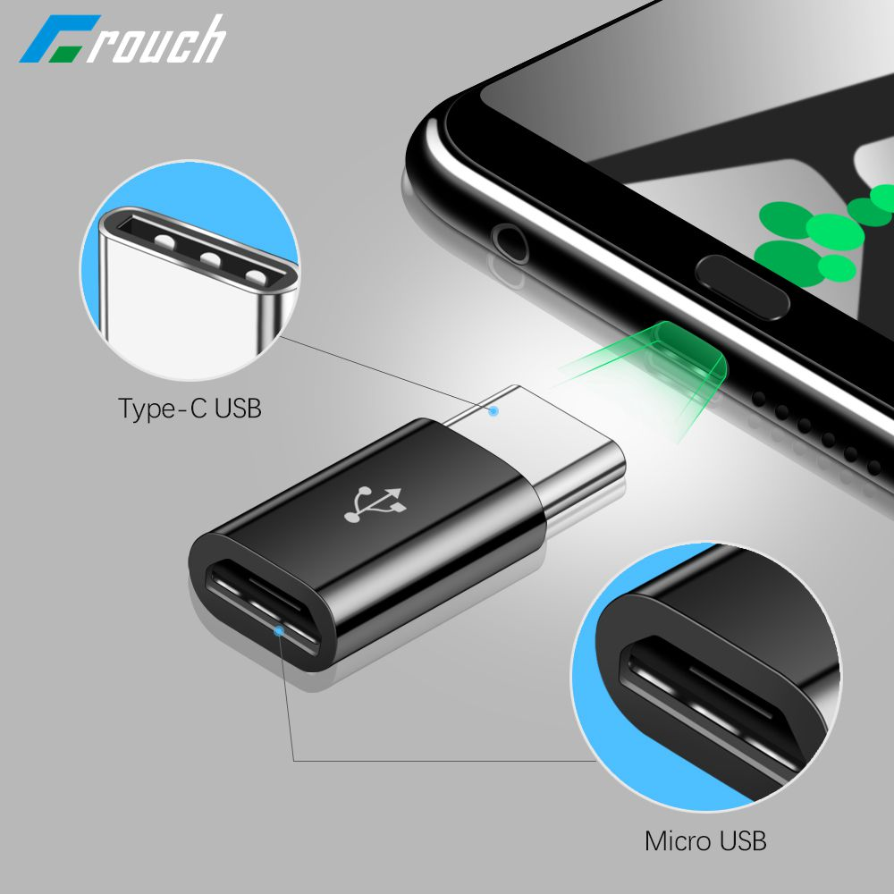 OTG Type C USB C Adapter For Samsung Galaxy S8 S9 Note 9 8 Micro Type C Usb-c Usb 3.0 Charge Data Converter For Xiaomi Huawei
