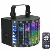 AC90 240V 30W DMX512 RGBW LED Stage Light Auto/Sound Control/DX512 9 Color DJ Disco Lamp +Remote Control US Plug