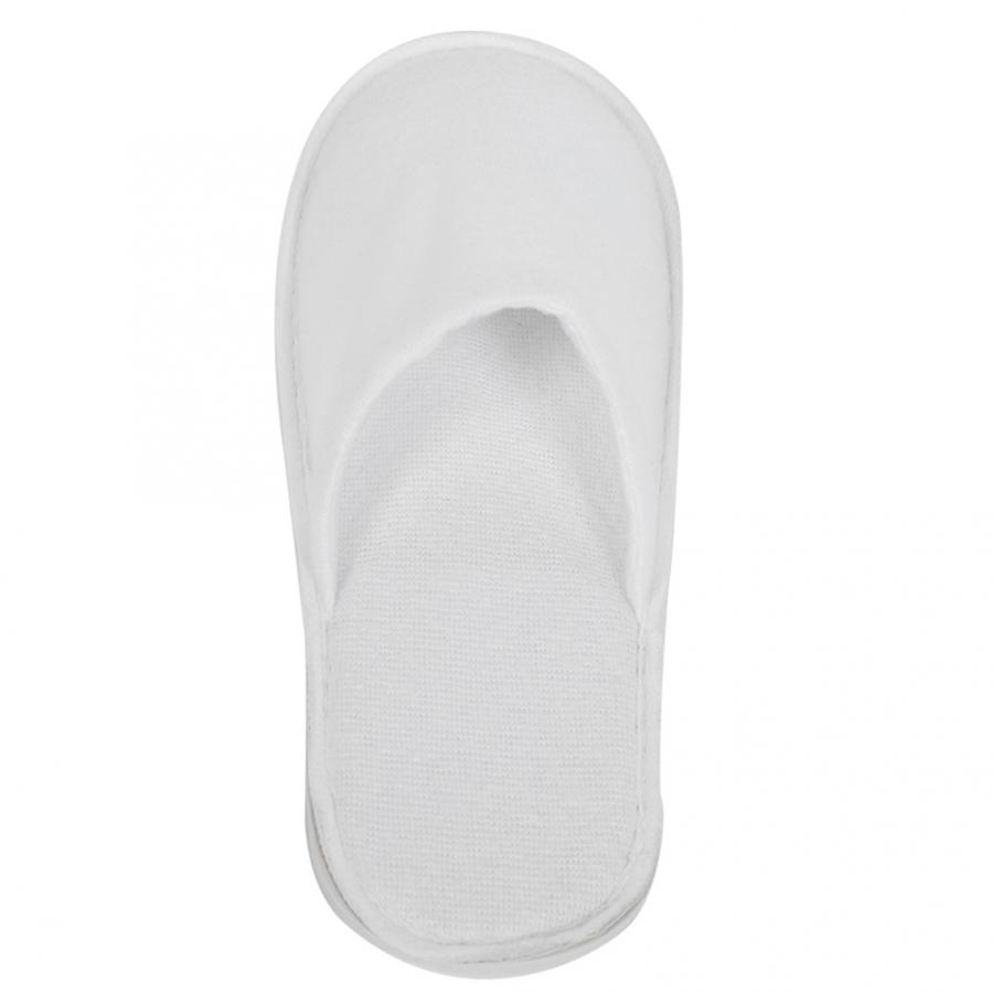 10Pair Disposable Slippers Hotel Household Bulk Guest Slipper Hotel Travel SPA slippers White Shoes Toe Slipper Wholesale