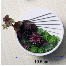 Step Staircase Cement Desktop Planter Mold 3d Flower Basin Silicone Mould Nordic Pot Round Vase Concrete Molds