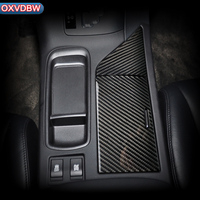 for Lexus RX300 270 450H350 F sport Accessories Carbon Fiber Water glass faceplate Interior Decoration 09 14Auto Sticker Styling