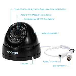 Image 5 - KKmoon caméra de vidéosurveillance dextérieur 1080P AHD 2mp 24 IR, Vision nocturne, IR CUT étanche, dispositif de sécurité dextérieur