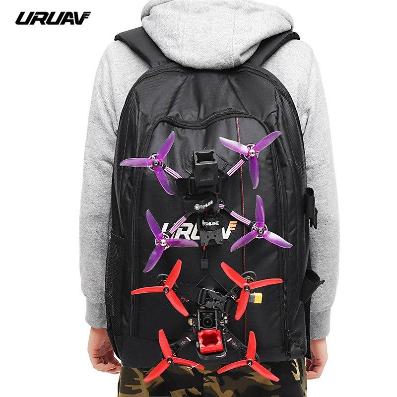 URUAV UR7 sac à dos de rangement sac à bandoulière etui Carring valise pour Diatone 2019 GT349 Eachine Tyro99 Tyro79 Drone 40x55x22mm