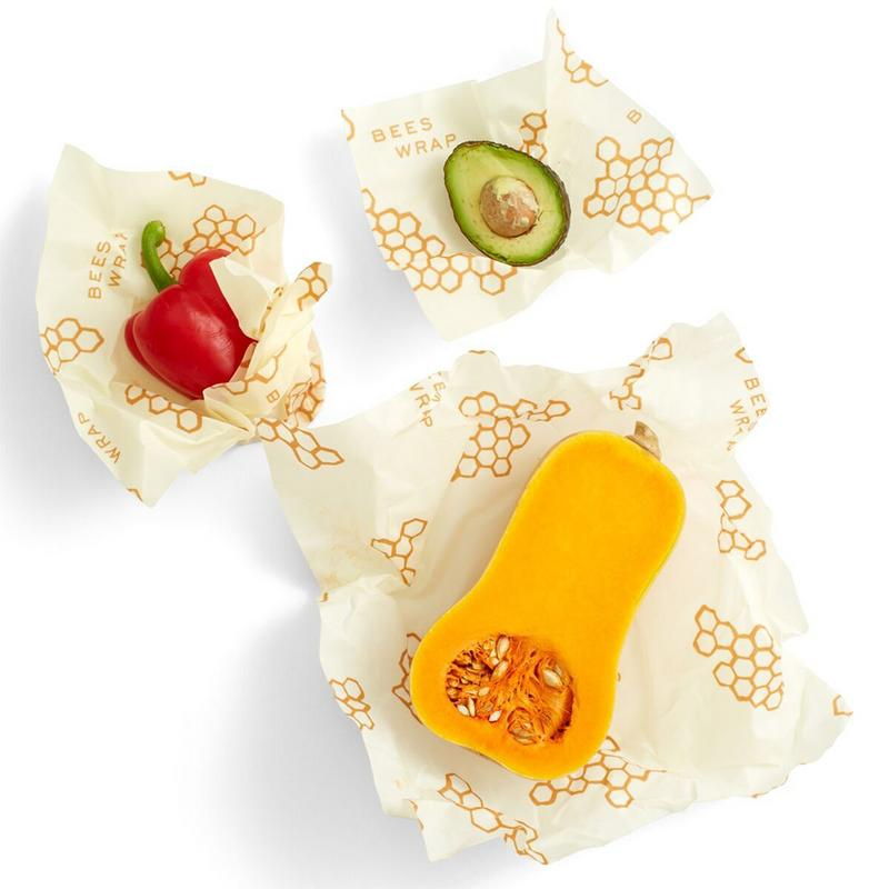 US $8 74 35% OFF|Reusable Food Beeswax Plastic Wrap Organic Durable Food  Wrap Biodegradable Storage Wraps Home Kitchen storage Freshkeeping Cloth-in