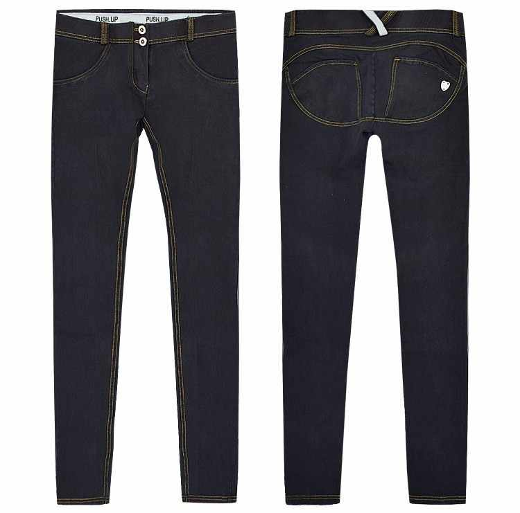 ZOUHIRC caliente mujer casual Jeans Hip vaqueros ajustados elásticos nueva moda Sexy Jeans pantalones lápiz polainas