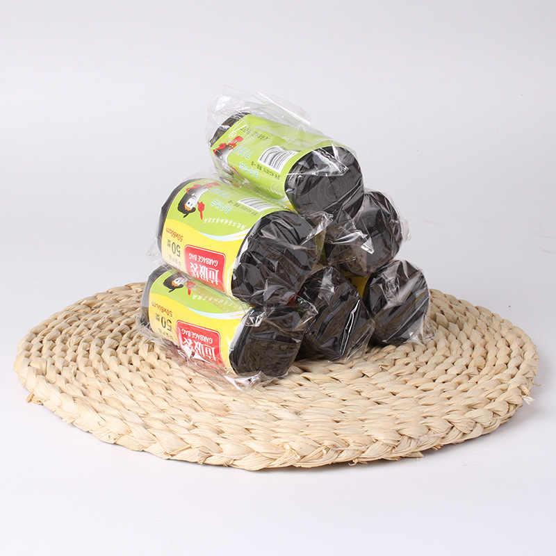 50*60 cm Große trash taschen hause tragbare weste typ müll taschen küche farbe verdickung kleine kunststoff taschen Fabrik spender