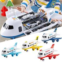 Simulation Track Inertial Music Simulation Aircraft Simulation Passenger Plane Boy Baby Toy Car