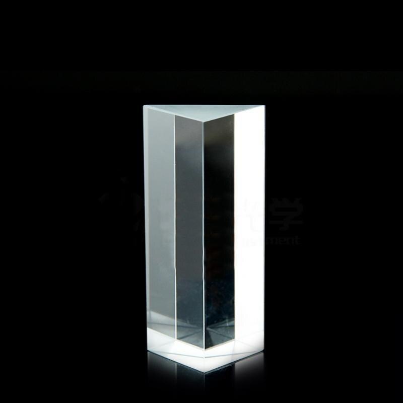 20x20x60mm In Vetro Ottico Triangolare Lsosceles K9 Prisma Con Pellicola Riflettente20x20x60mm In Vetro Ottico Triangolare Lsosceles K9 Prisma Con Pellicola Riflettente