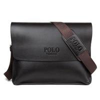 Hot Selling Classic Men's Crossbody Bag Brand Design Fashion Men's Shoulder Bag Horizontal Male Leather Messenger Bag for man