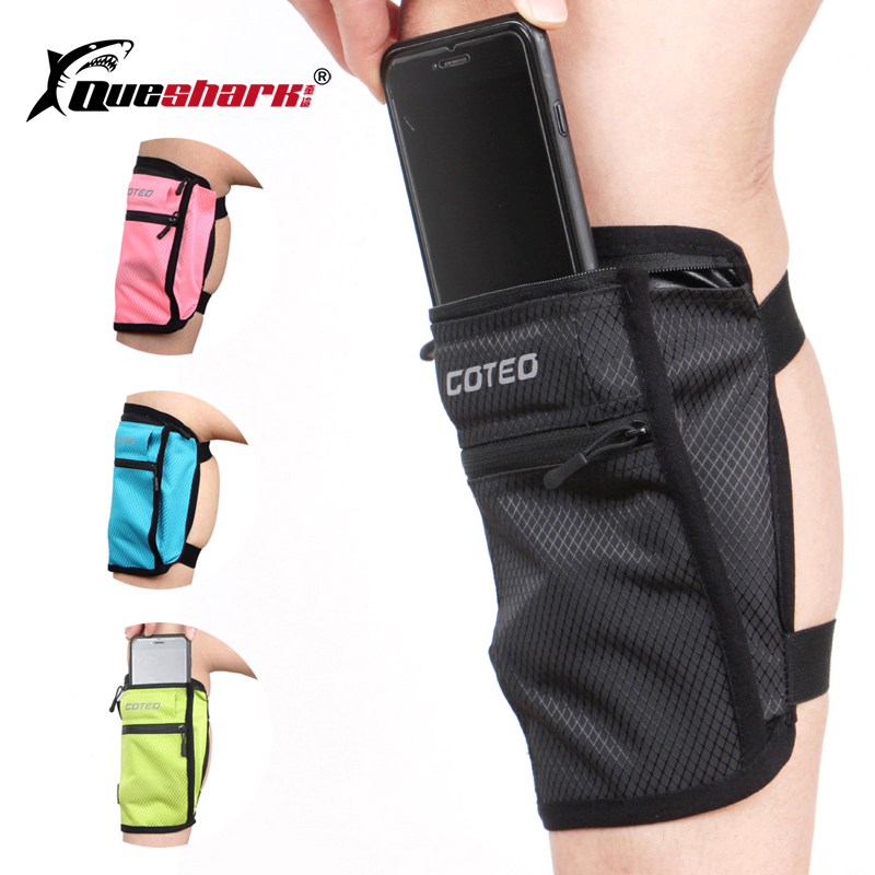 2019 New Sports Shockproof Mobile Phone Calf Bag Running Leg Bag Multi-use Sports Bag Outdoor Riding Travel Wallet Cycling Bag