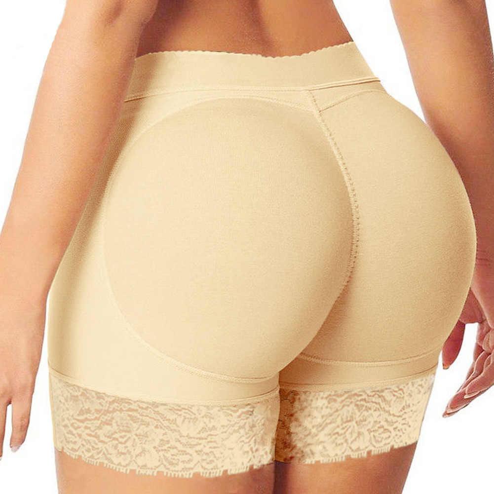 Mais recente chegada feminina bumbum levantador calcinha falso nádega corpo shaper acolchoado roupa interior senhora elevador bum shapewear mais tamanho 3xl