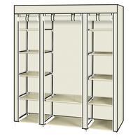 DIY Non woven Fabric fold Closet Portable Storage Cabinet Multifunction Dustproof Moistureproof Furniture Easy to Assemble