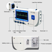 Heal Force PC-80B Easy Handheld Portable ECG Monitor With 3-Lead ECG Cable, ECG Electrodes, Software & USB Cable CE Approved