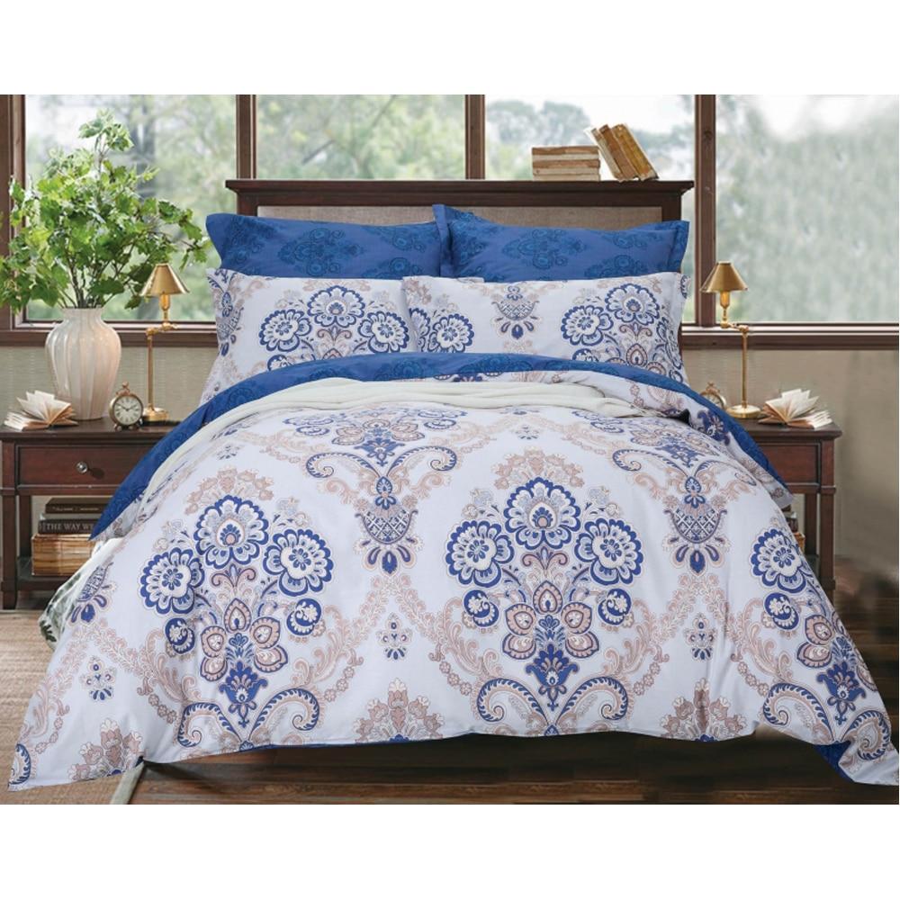 Bedding Set SAILID B-186 cover set linings duvet cover bed sheet pillowcases TmallTS contrast striped sheet set