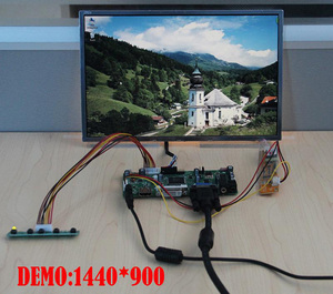 Image 4 - NT68676(HDMI+DVI+VGA)  2019 For 30pin B154EW02 1280X800 Screen monitor LCD panel Controller driver Board display