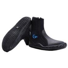 Yon Sub Неопреновая Обувь для дайвинга с высоким верхом, противоскользящие ботинки для дайвинга, сохраняющие тепло, обувь для плавания, для рыбалки, для зимнего плавания, доступ к плавникам ming