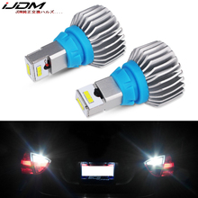 iJDM 6000K White Powered By Luxen LED W16W CANBUS Error Free 912 921 T15 Bulbs For Euro Car Back up Reverse Lights,12V