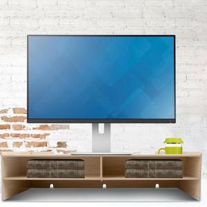 Image 2 - High Quality Laptop Table Modern Computer Monitor Laptop Stand Office Desktop Desk Shelf Storage Rack Display TV stand Furniture