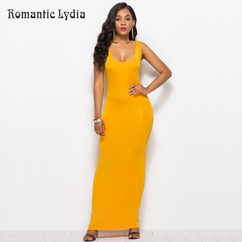 Women Bodycon Maxi Dress Elegant Sleeveless Elastic Female Party Floor Length Ladies 2019 New Long Slim Dresses