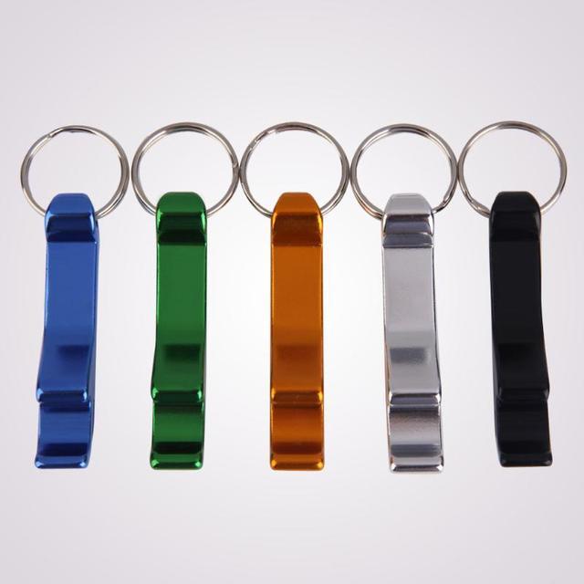 Fish Shape Beer Bottle Opener Keychain Ring 3