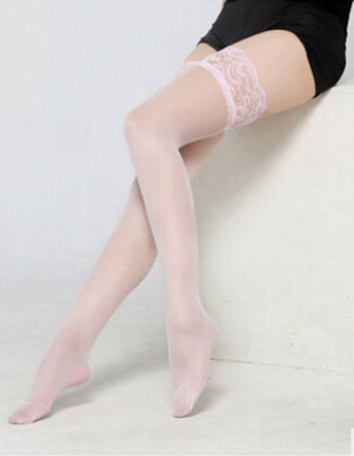 2019 Newest Female Multicolor Thin Lace Mesh Pantyhose Long tight Hold Ups Hosiery Thigh Highs Stocking in Stockings from Underwear Sleepwears