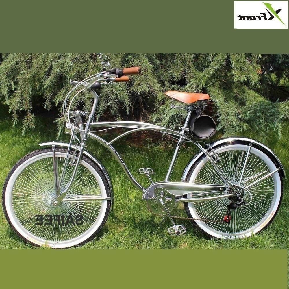 Nouveau x-front marque 24/26 pouces rétro vélo 7 vitesses Harley banlieue vélo de route Shiman0 Bicicleta Racefiets