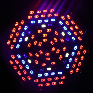Светодиодный светильник для выращивания растений с полным спектром, 10 шт., E27, AC85-265V, лампада 45 Вт, УФ, ИК, 120 светодиодный, S, светодиодный свети...