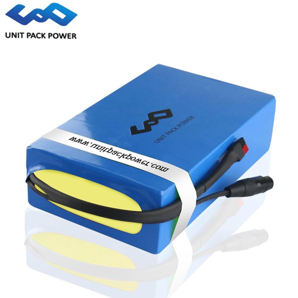 Livraison gratuite 60 V 30Ah ebike Lithium ion Batterie Pack 2000 W Électrique Scooter Batterie avec 60A BMS 67.2 v 5A rapide Chargeur