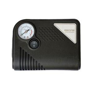 Image 1 - ポータブル 12 12v dc車のタイヤインフレータミニ電動空気圧縮機ポンプ黒abs車のバイクrv suv atv