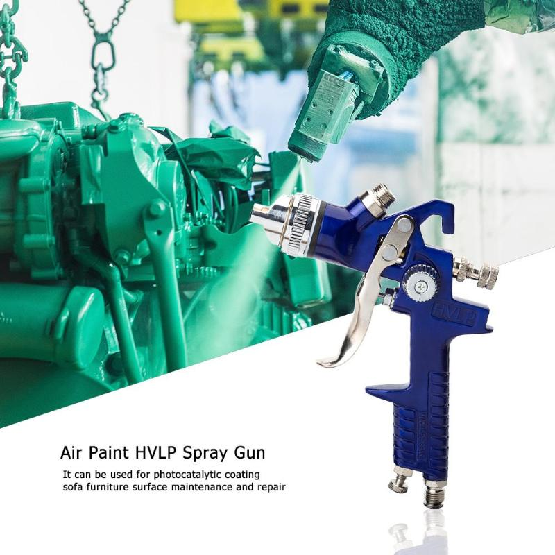 Image 3 - 0.5mm/0.8mm/1.0m/1.4mm/1.7mm Nozzle H827P Air Paint HVLP Spray Gun Airbrush for Painting Car Aerograph Pro Cake Spraying Gun-in Spray Guns from Tools on