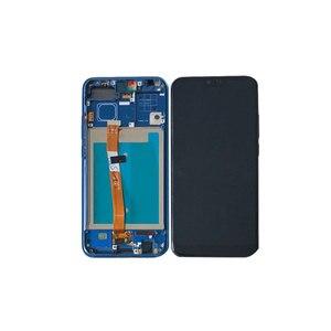 """Image 2 - 5.84 """"orijinal M & Sen Huawei onur 10 için LCD ekran + dokunmatik Panel sayısallaştırıcı ile çerçeve + parmak izi onur 10 için ekran"""