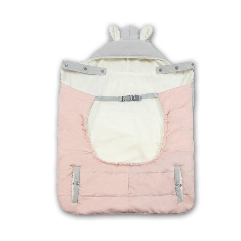 Hiver bébé fronde cape nouveau-né taille tabouret garder au chaud manteau maman enfants voyage couverture douce emmailloter bébé Deken sac de couchage couette