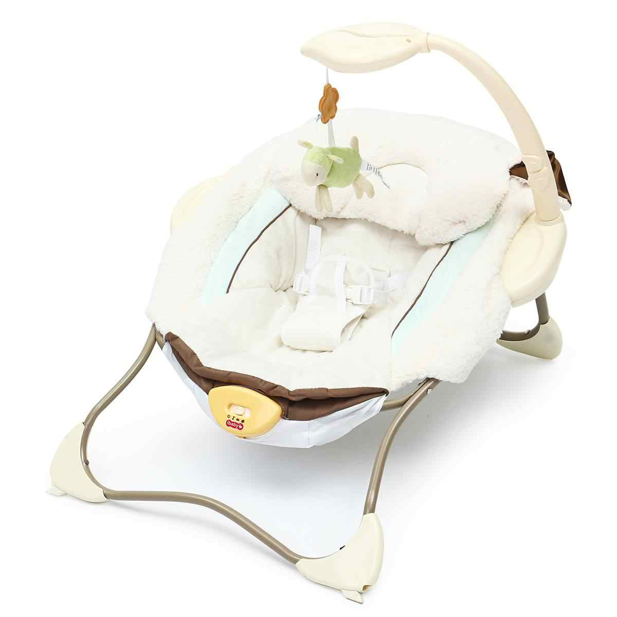 Портативная детская колыбель вышибатель электрическая качели кресло для отдыха игрушки Музыка многофункциональная складная кровать для новорожденных