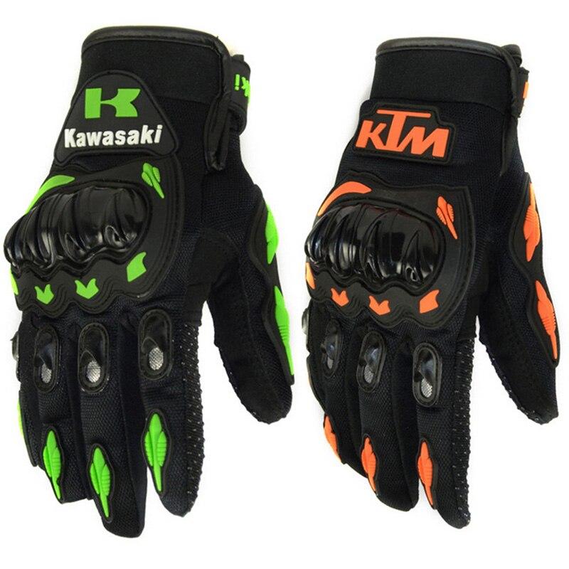 Motorrad Kawasaki Für KT-M Handschuhe Luva Motoqueiro Guantes Moto Pu Leder Sport Downhill Motocross Handschuhe Racing M/L/ XL/XXL