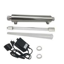 2GPM 220 V lampa ultrafioletowa lampa UV filtr wody światło ultrafioletowe sterylizacji lampa do dezynfekcji UV