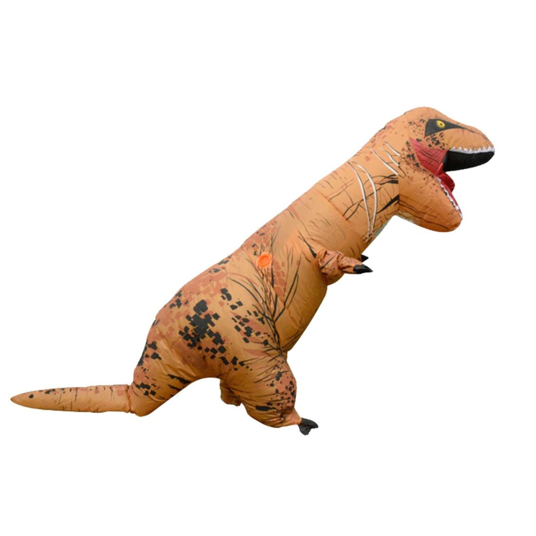 Rowsfire 1 stücke Aufblasbare Trex Tyrannosaurus Kostüm Phantasie party Kleid für 1,68 1,85 m erwachsene kreative geschenk partei versorgung-in Weiteres Berufsspielzeug aus Spielzeug und Hobbys bei  Gruppe 1