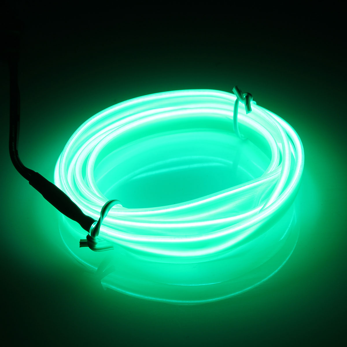 Waterproof 1M Led Strip LED Flexible Car Decoration Neon LED EL Wire Cable Lamp Glow String Light Tube Lights DC12V