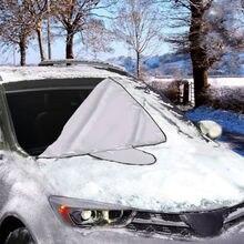 Водонепроницаемый лобовое стекло автомобиля Лобовое стекло Обледенение лед снег щит окно зеркальный протектор УФ выцветание крышка автомобиля