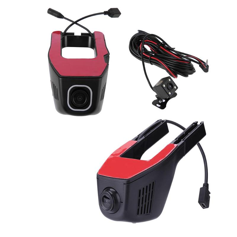 Phisung 1080P HD Hide WiFi Wireless Car DVR Video Recorder Night Vision Dash Cam