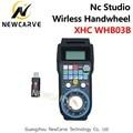XHC WHB03B Nc Studio CNC Handwiel Draadloze Nc Studio MPG Hanger Handwiel Voor Freesmachine 3 Axis NEWCARVE