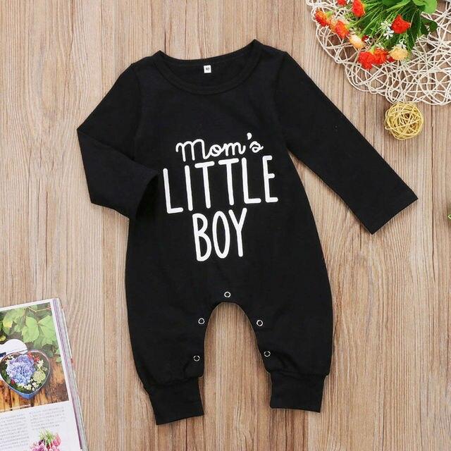 Mom's Little Boy Romper 2