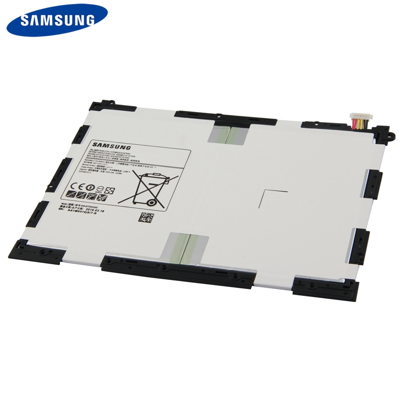 Original Replacement Tablet Battery EB BT550ABA For Samsung GALAXY Tab A 9 7 T550 T555C P555C P550 Rechargeable Battery 6000mAh in Mobile Phone Batteries from Cellphones Telecommunications