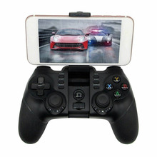 iPega PG - 9076 Wireless Bluetooth Gamepad 2.4G Bracket Joystick Android Win Game Console Player For SmartPhone PS3