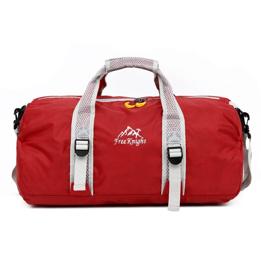 Free Knight FK0725 Waterproof nylon folding bag with single hand multifunction folding bucket bag sports GYM climing bag Сумка