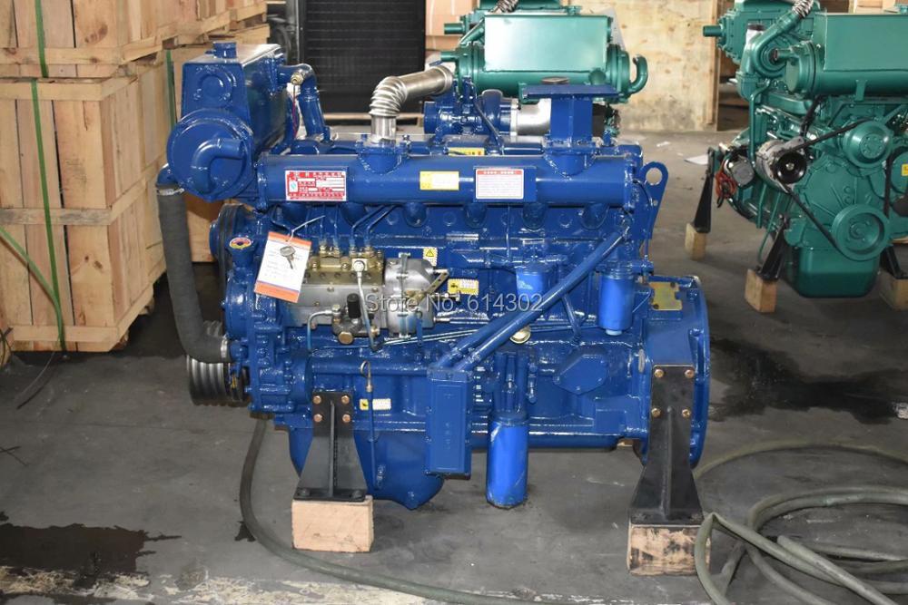 Moteur diesel marin de bateau du moteur diesel 92kw/1500rmp Ricardo R6105AZC de fournisseur de la chine pour la puissance diesel marine de générateur