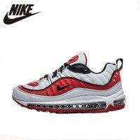 Nike Air Max 98 оригинальное новое поступление дышащая мужская Беговая спортивная обувь наружная Подушка кроссовки # AJ6302 113