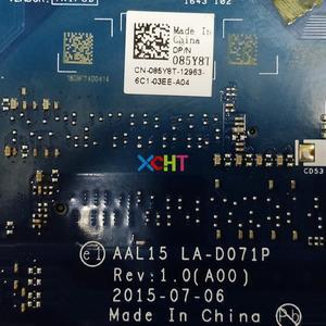 Image 5 - 85Y8T 085Y8T CN 085Y8T AAL15 LA D071P w i5 6200U CPU 216 0864046 R5 M335 2GB GPU لديل انسبايرون 5567 NB PC اللوحة المحمول