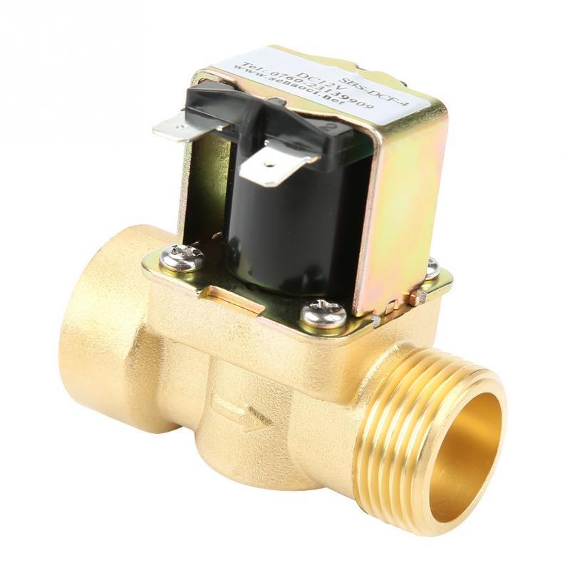 Dn20 G3/4 Messing Normale Geschlossen Pilot-betrieben Wasser Einlass Elektrische Magnetventil Druck Controller Schalter Neue Heimwerker